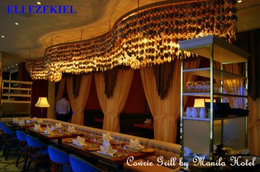 COWRIE GRILL - MANILA HOTEL